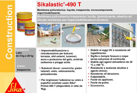 Resina liquida trasparente impermeabilizzante boiserie for Guaina liquida trasparente mapei